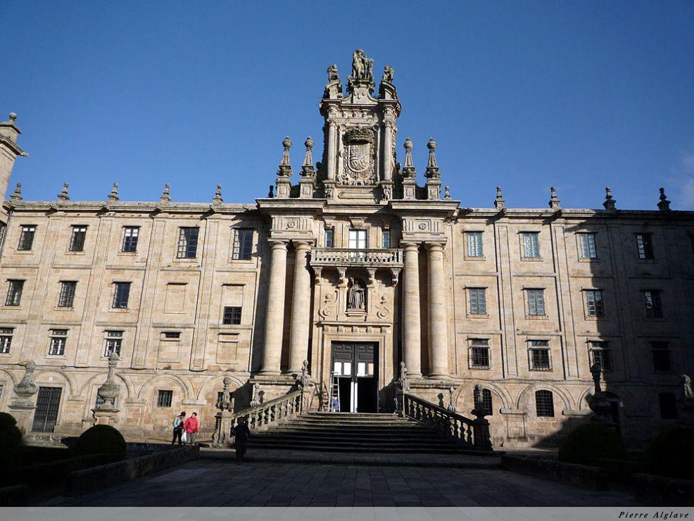 Santiago, Monastère San Martin Pinario