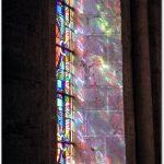 Abbatiale Notre-Dame : jeu de lumières