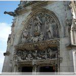 Porche de la Chapelle Saint-Hubert