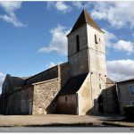 L\'église de Saint-Sauvant