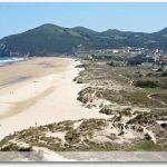 Plage de Berria, côté Santoña