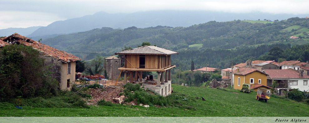 Grenier moderne  asturien