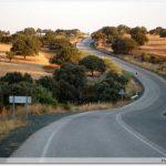La route après Castilblanco de los arroyos