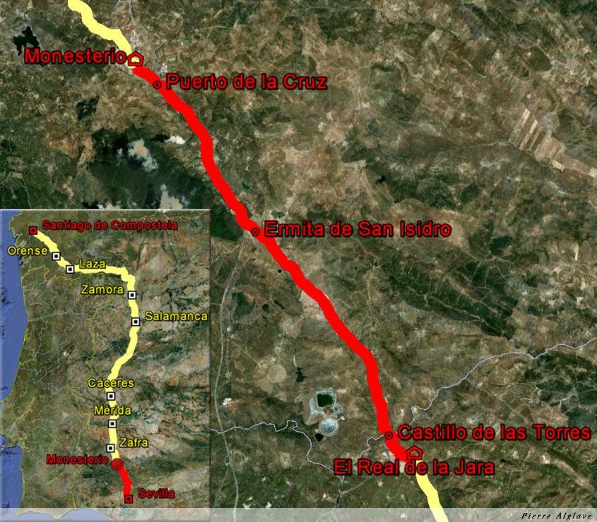 De Real de la Jara à Monesterio : 20 km