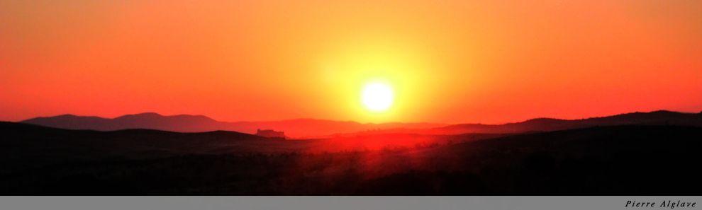 Lever de soleil sur la via de la Plata