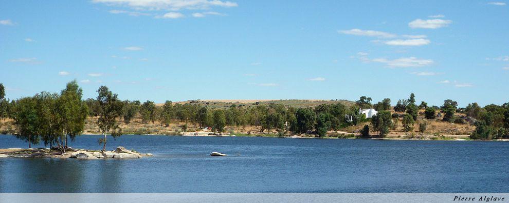 Les rives du lac de Proserpina