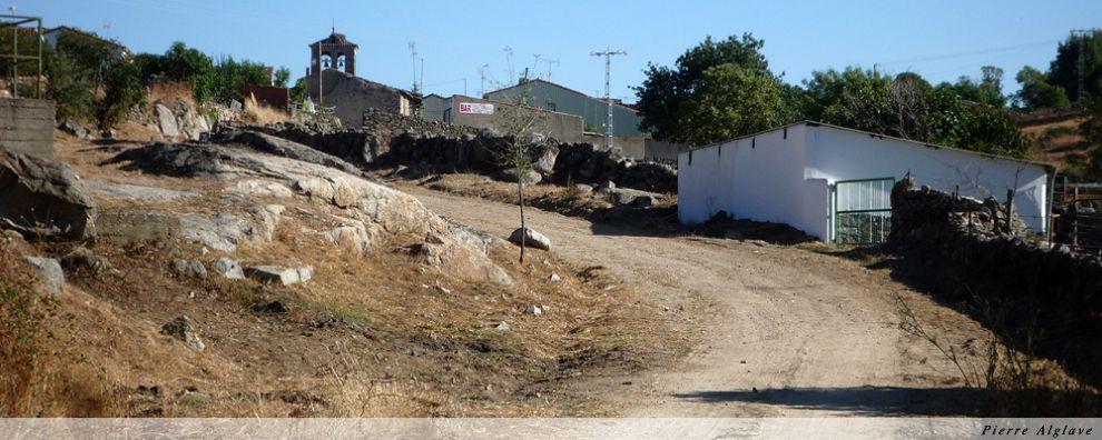 Arrivée à La Calzada de Bejar