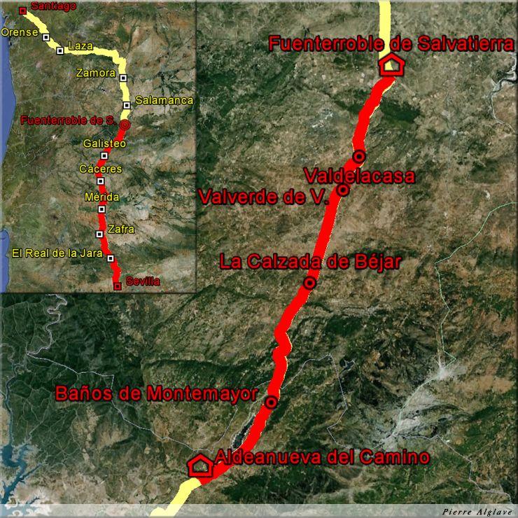 De Aldeanueva del Camino à Fuenterroble de Salvatierra : 43 km