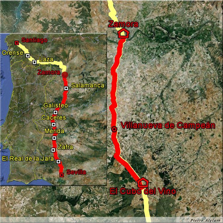 El Cubo de la Tierra del Vino à Zamora : 33 km