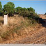 """Borne de la  \""""ruta del Argar\"""""""
