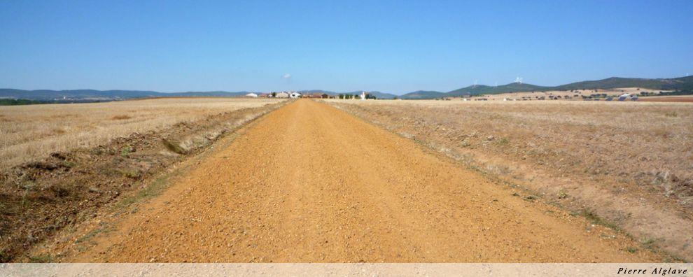 Le Chemin en arrivant à Faramontos