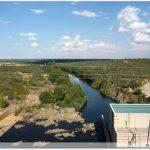 Depuis la digue du barrage de Agavanzal