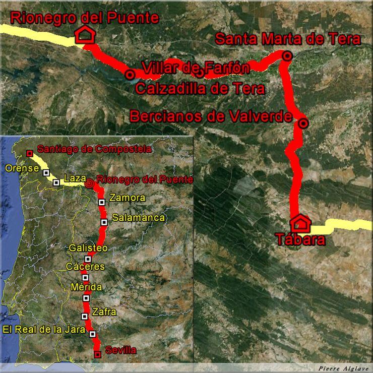 De Tabara à Rionegro del Puente : 47 km