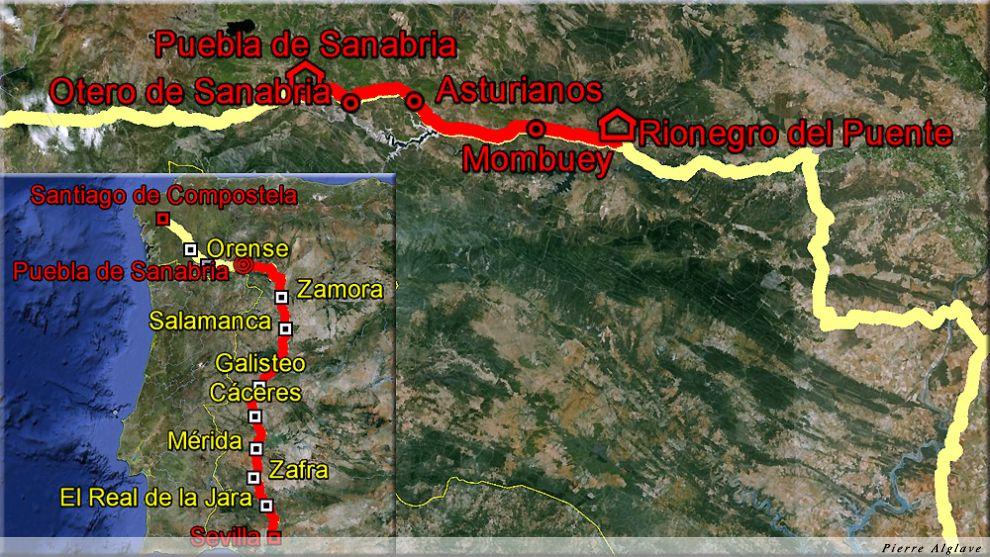 De Rionegro del Puente à Puebla de Sanabria : 45 km
