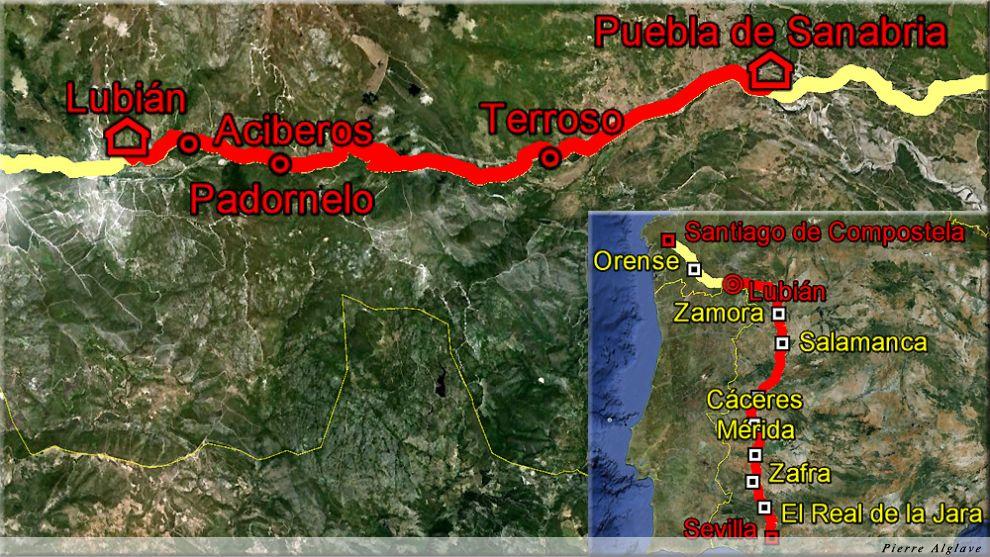 De Puebla de Sanabria à Lubian : 29 km