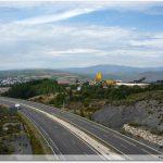 Traversée de l\'autoroute avant A Gudiña