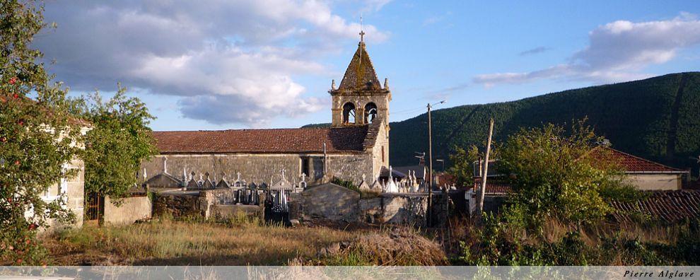 Arrivée à Laza - Eglise San Xoan