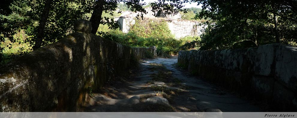 Pont romain à Sobreira