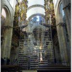 Travaux dans la nef